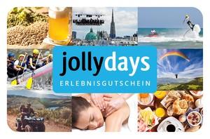Ausgefallene Geschenke und Geschenkideen für jeden Anlass findest du bei jollydays.de – Deutschlands größtem Erlebnisportal.  Die Freisc...