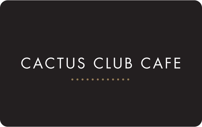 Cactus Club eGift