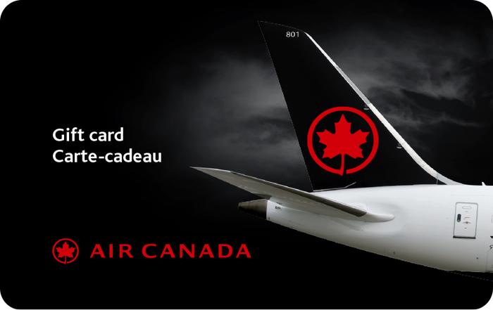 Air Canada eGift (no inventory)